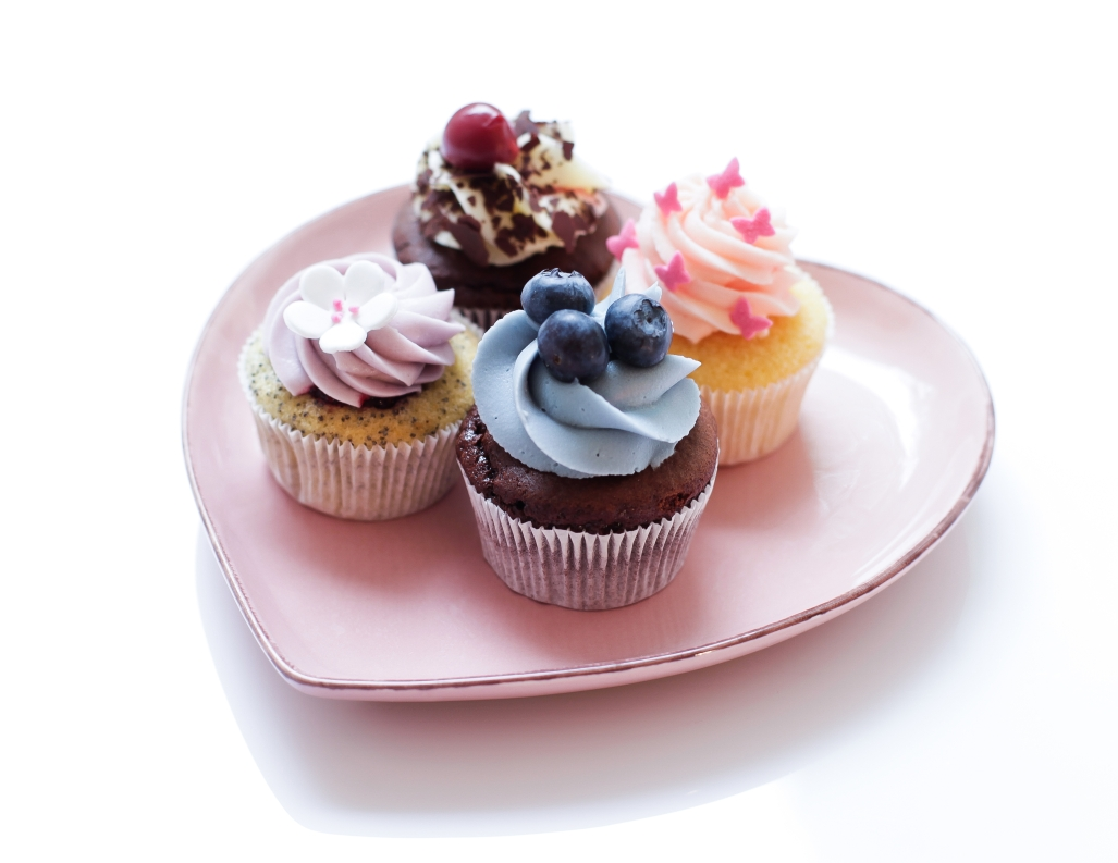 Fresh, hand-made cupcakes...